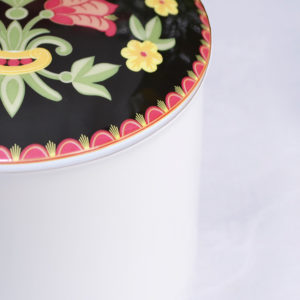 Telerosa - Østfold Løken stort smykkeskrin i porselen