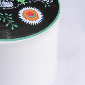 Telerosa - Østfold stort smykkeskrin i porselen