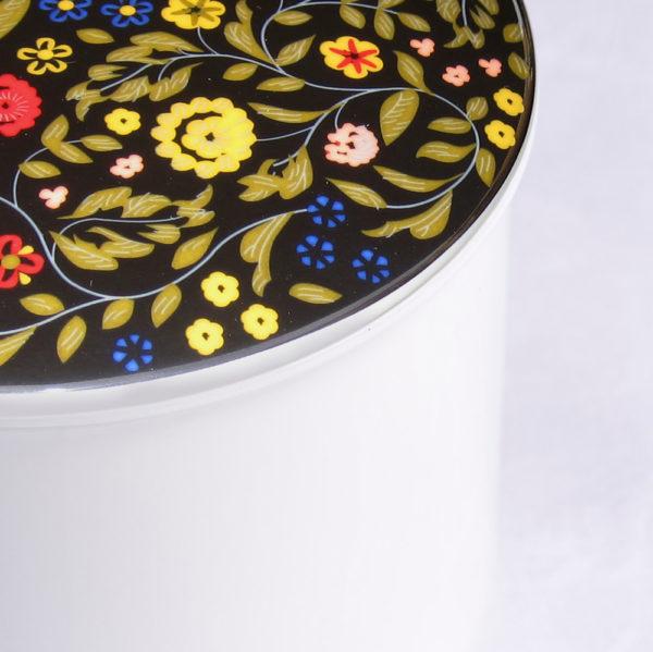Telerosa - Brokade stort smykkeskrin i porselen