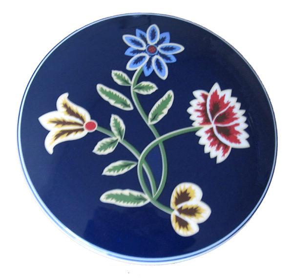 Telerosa - Nordland Blå smykkeskrin i porselen