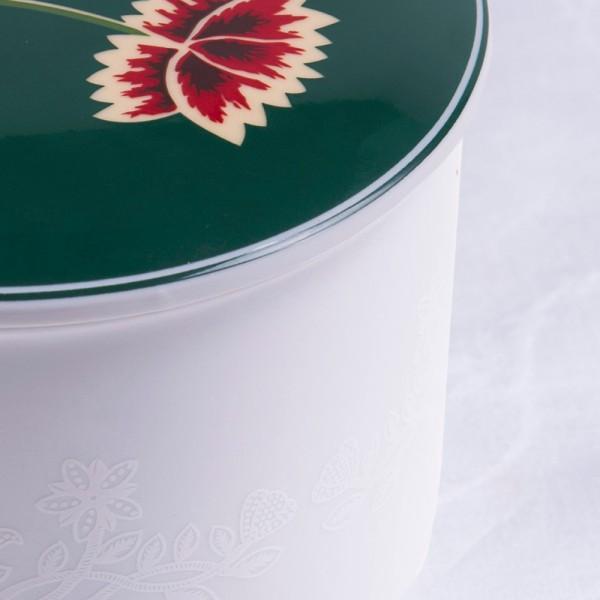 Telerosa - Nordland Grønn stort smykkeskrin i porselen
