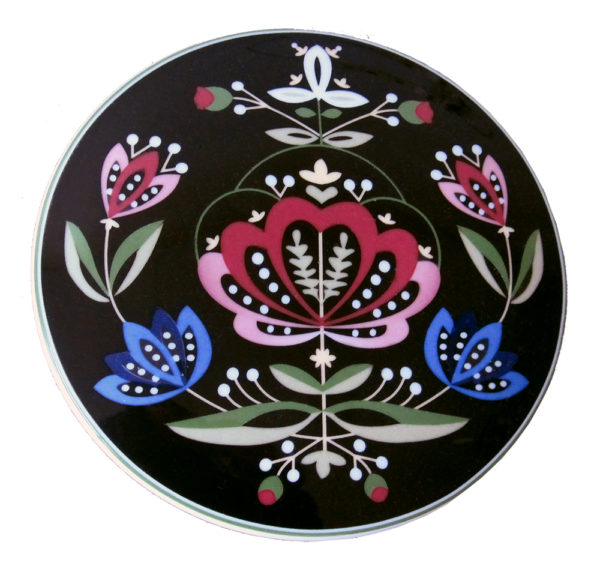 Telerosa - Rogaland smykkeskrin i porselen