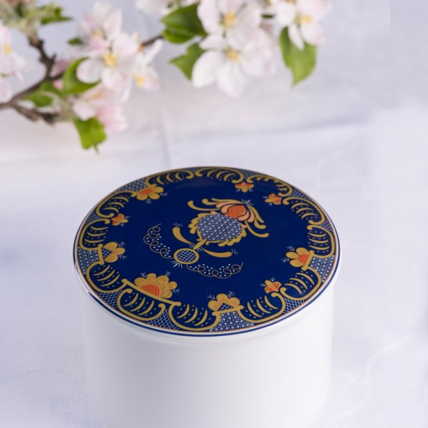 Telerosa - Romerike stort smykkeskrin i porselen