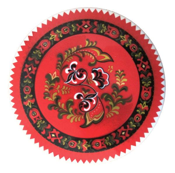 Telerosa - Øst-Telemark smykkeskrin i porselen