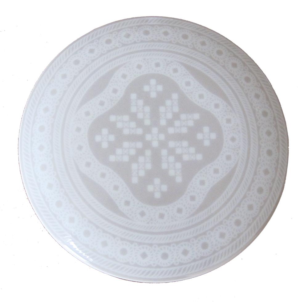 Telerosa - Tradisjon Grå smykkeskrin i porselen