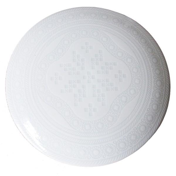 Telerosa - Tradisjon Hvit smykkeskrin i porselen