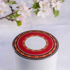 Telerosa - Vestfold stort smykkeskrin i porselen